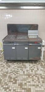 Vulcan stove and fryer combo