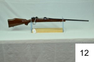 Custom Mauser    98    Cal .243 Win    W/Flaig's Barrel    SN: 75515    Condition: 70%