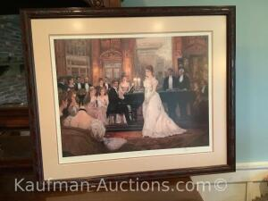 Large Victorian artwork