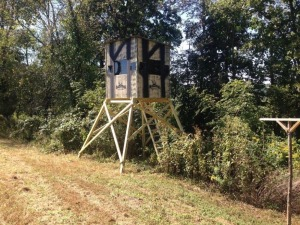 6 x 6  Penthouse Hunting Blind by Oak Ridge Hunting Blinds