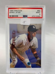 1995 Emotion Derek Jeter  PSA 9