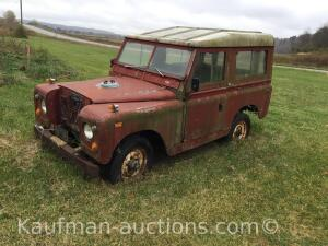 1969 Land Rover Station Wagon