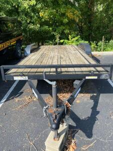 Sure-Trac bumper hitch trailer 16 tandem axle car hauler, bill of sale only