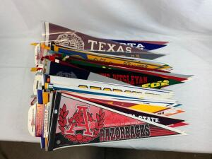 (71) college pennants