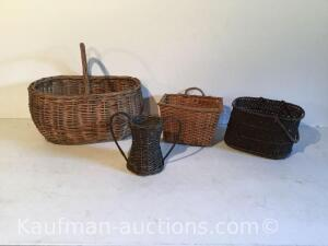 (4) early baskets