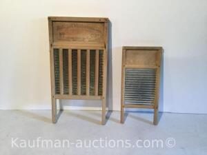 (2) washboards