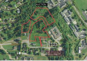 5.6941 acres/building sites & open land, 19 total city lots selling in this parcel located on Circle Dr. Cambridge OH