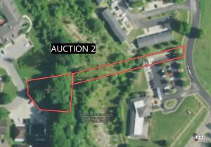 Auction 2: 0.39 acre residential city lot with access on Columbia Ct. & Circle Dr.