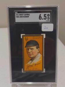 1911 T205 John McGraw HOF SGC 6.5 EX-NM+ Speaks For Itself, Would Be Difficult To Improve On