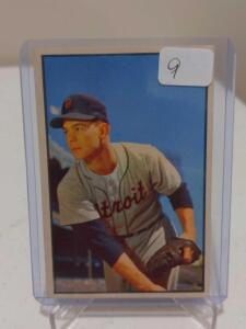 1953 Bowman Color Art Houtteman #4 NM With Vibrant Colors One Minor Wax Stain On Back