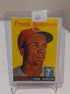 1958 Topps Frank Robinson #285 2nd Year Card EX Qualities But O/C Holding it Back