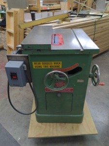 Powermatic model 66 table saw