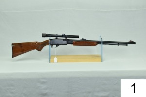 Remington    Mod 572    BDL Deluxe Fieldmaster    Cal .22 LR    SN: 1947892    W/Weaver V22-A 3-9x    Condition: 90%