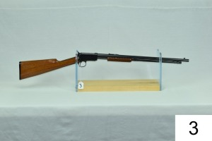 "Winchester    Mod 06    Cal .22 LR    SN: 684980-3    ""Gun was possibly refinished""    Condition:  90-95% Refinished?"