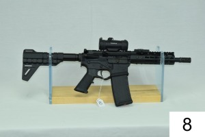 American Tactical    Mod Omni Hybrid Multi-Cal    Cal .300 Blackout    SN: NS213075    W/Tru-Glo Red Dot & Light    Condition: 90-95%