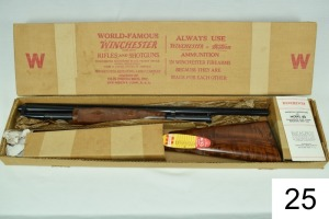 "Winchester    Mod 42 Special Deluxe    .410    26""    Vent Rib    Skeet    SN: 135744    Mfg. 1958    Condition: Like ""Brand New"" in Box w/Papers & Hang Tags    Box in very good condition!!"