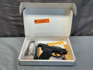 "LCP ""Z"" .380 ""Zombie Slayer"" Semi Auto pistol with 1 magazine, factory lock and box"
