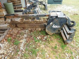 Lowe Trencher Attachment for Skid steer