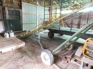 Hay Elevator with electric motor 24'