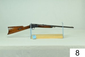 Winchester    Mod 03    Cal .22 Automatic/Rechambered to .22 LR    SN: 115693    Stock was Refinished    Condition: 70%