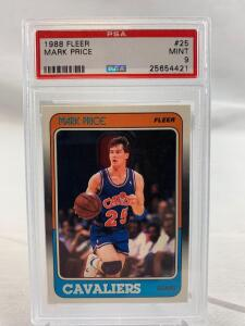 Mark Price, PSA, mint 9, Rookie