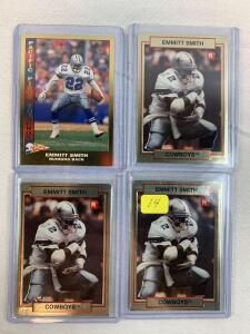 Emmitt Smith Rookie group of 4