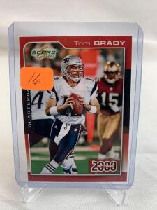 Tom Brady 2012 Flashback rare card
