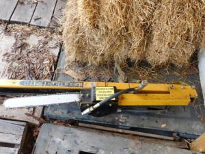 LimbHog Tree Saw Attachment for Skid steer