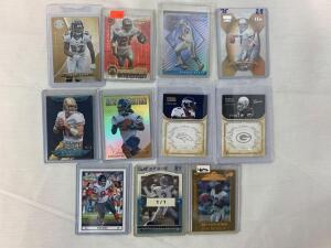 Lot of 11 Serial #'D cards All numbered out of /35 or less including a true 1of1 card