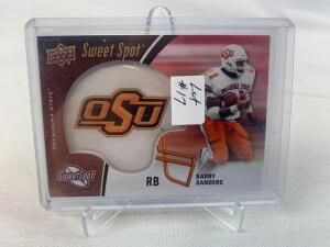 2015 Upper Deck Sweet Spot Barry Sanders Helmet Card
