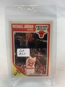 1989/90 Fleer Michael Jordan Card #21