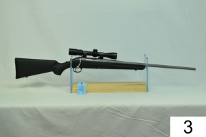 Ruger    American    Cal .243 Win    SN: 69463929    W/Nikon Prostaff 2-7x    Stainless    Condition: 80% W/Box