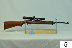 Ruger    Mod 10-22    Cal .22 LR    SN: 117-78538    W/Simmons 3-9x    Condition: 85%