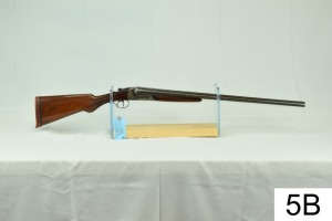 "Lefever    Nitro Special    12 GA    28""    SN: 167368    ""Stock refinished, recoil pad not original""    Condition: 50%"