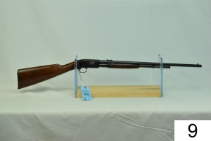 "Remington    Mod 12 A    Cal .22 LR    SN: 699506    ""Gun was refinished""    Condition: 75% Refinished"