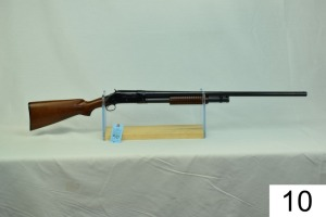 "Winchester    Mod 97    12 GA    30""    Full    SN: 969602    Mfg. 1951    ""Gun was restocked & refinished""    Condition: 80% Refinished"