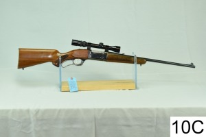 Savage    Mod 99-C    Cal .308 Win    SN: B020482    W/Bushnell 3-9x    W/Spare Mag    Condition: 65%