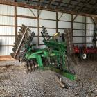 JD 630 18' folding transport disc Ser#N00630X012985