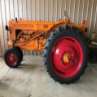 Minneapolis Moline Z gas tractor, narrow front, hyd, lights, PTO, restored