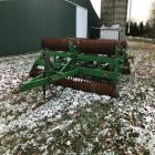 JD 970 Roller Harrow, 20', fold up transport, Ser#N00970X004515