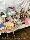 Dolls, doll clothes & misc