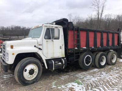 1984 International S 1900 dump truck 294,826 miles, runs well